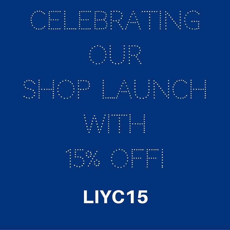 To celebrate our shop launch